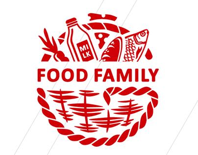 Logo Food family