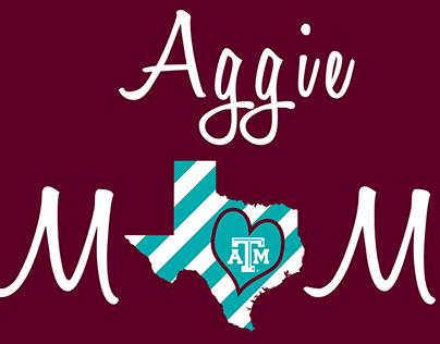 Aggie Moms T-shirt