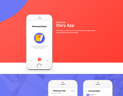 Personal Diary App