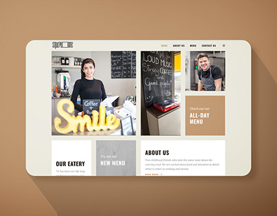 Cafe and Coffee Shop Website