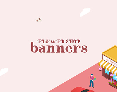 Web Banners Flower Shop