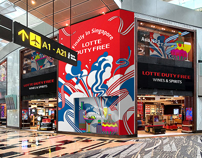 LOTTE DUTY FREE x CHANGI airport _ OPEN project