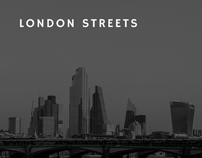 London streets - Fotografia