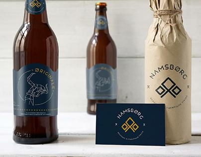 NAMSBORG - Branding / Illustration / Packaging
