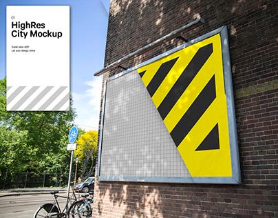 City Banner Mockup