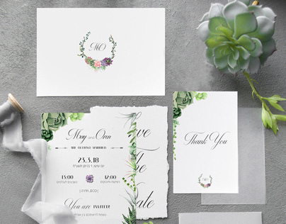 Wedding Invitations & Branding