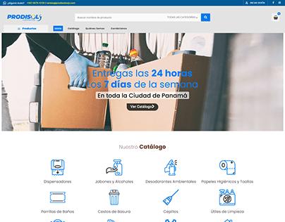 Sitio Web Prodisol Corp