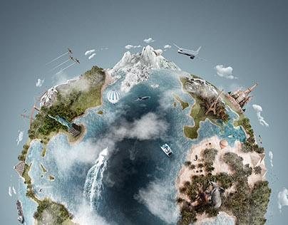 3D Atlas - Weston Fuller Photography