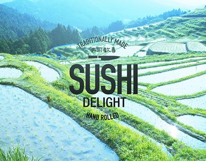 Sushi Delight rebranding