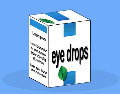 eye drops -packaging