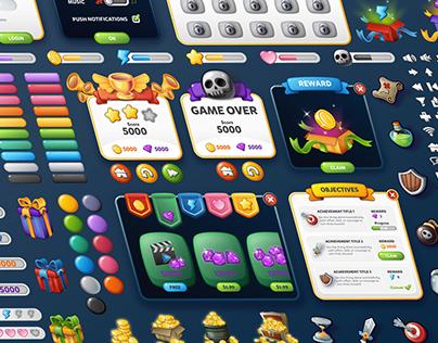 Game UI Kit Bundle