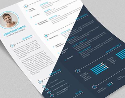 Professional Resume / CV - 4 Pieces