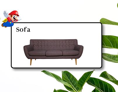 Website Ecommerce sofa