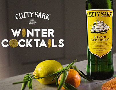 Cutty Sark Winter Cocktails