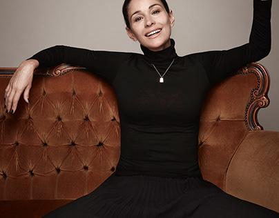 Women's label fashion shoot