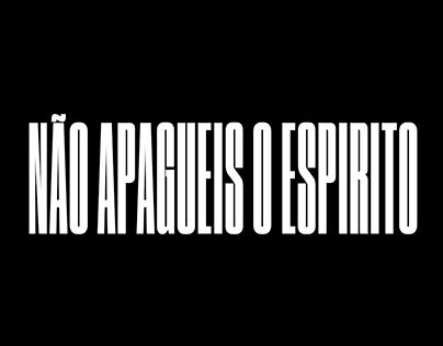 Não Apagueis o Espírito ⏤ Book