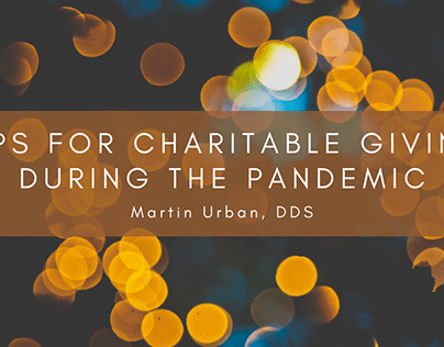 Tips for Charitable Giving During the Pandemic