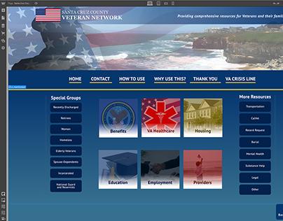 Santa Cruz County Veteran Network - Case Study Webflow
