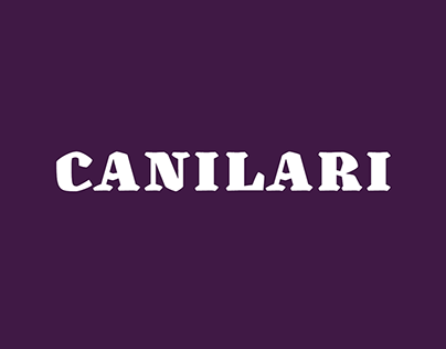 Canilari typepface