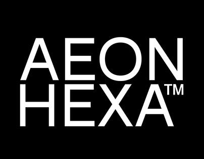 Aeon Hexa™ Typeface