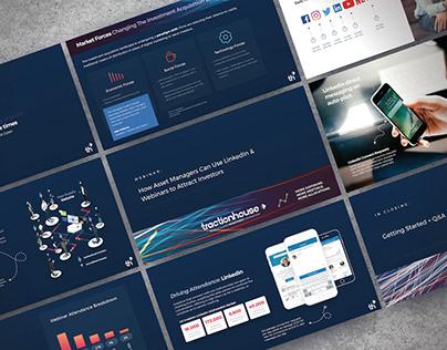 Financial Services Marketing Webinar Deck