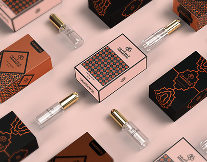 Karam oud perfume Packaging