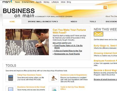 Microsoft/Sprint Business on Main Community Online