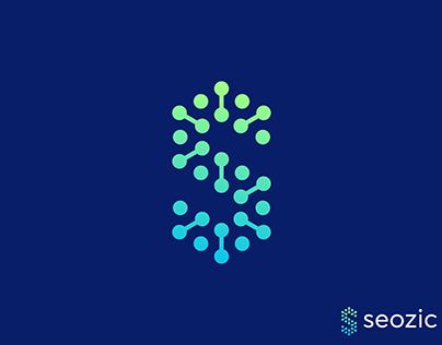 Seozic logo design | S letter mark