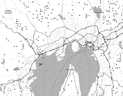 Maps of Bygdøy | Landscape analysis | Oslo, Norway