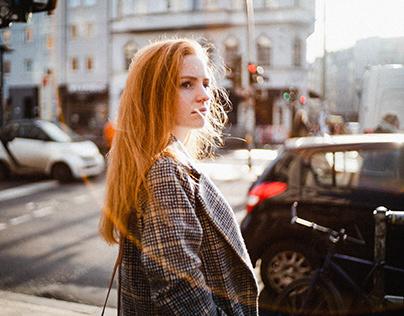 Stephanie in Berlin Winter