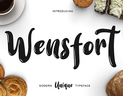 Wensfort Bouncy Delicious Font