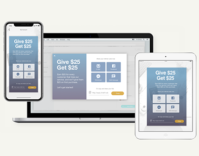Responsive Desktop Mobile and Tablet Share Widgets