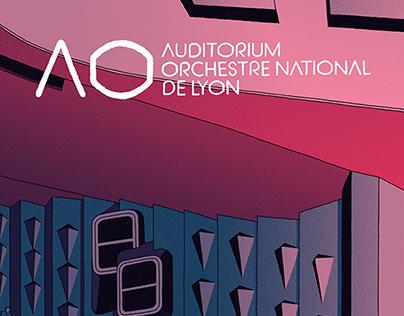 Lyon's Auditorium 2017/18 - Poster