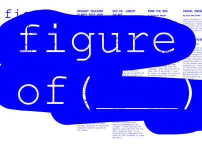 Figure Of (___) Exhibition Website