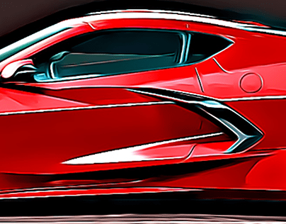 2020 Corvette | Unlicensed Images
