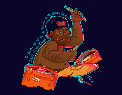 Fat Drummer