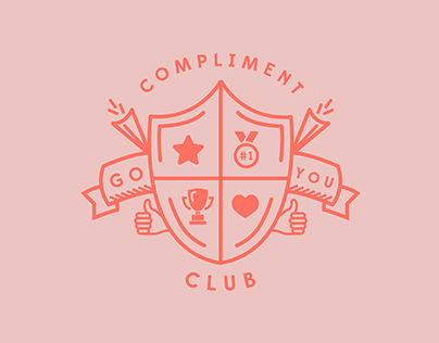 Compliment Club Identity