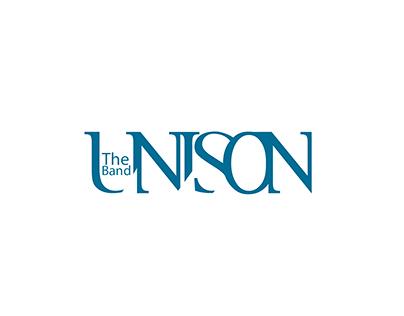 """branding for musik band """"UNISON"""", Lviv"""