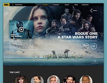 Redesign site IMDB