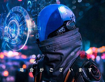 CyberPunk Robot concept