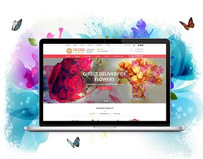 UI / UX I Wish Flower - Ecommerce Website
