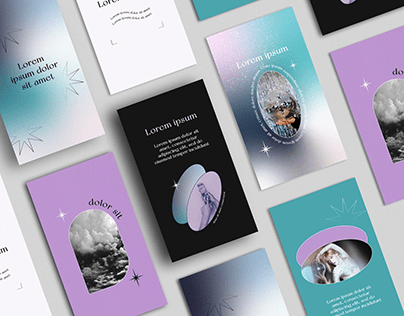 Aesthetic Instagram Posts & Stories Templates