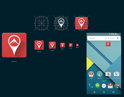 Jolly Go Round   Android App Icon Design