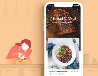 CookMe - Free UI Kit