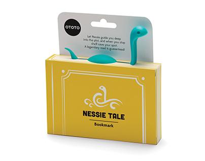 NEW!! PAPA NESSIE Pasta spoon By Ototo Design