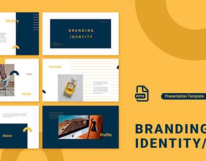 Branding Identity - Presentation Template