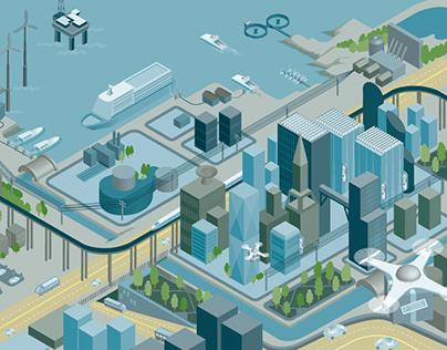 Norsk Industri, illustration