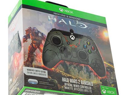 Halo Wars 2 Controller Packaging