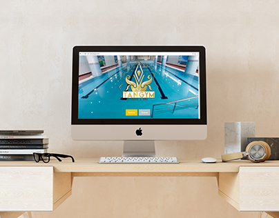 Website for a Fitness club