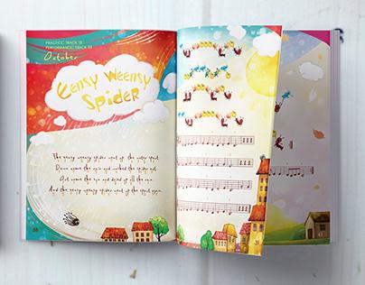 """Body Songs"". Book for little musicians"
